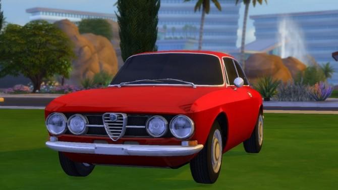 Sims 4 Alfa Romeo Brera at Understrech Imagination