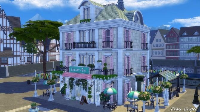 Ice Cream Cafe by Julia Engel at Frau Engel image 1834 670x377 Sims 4 Updates