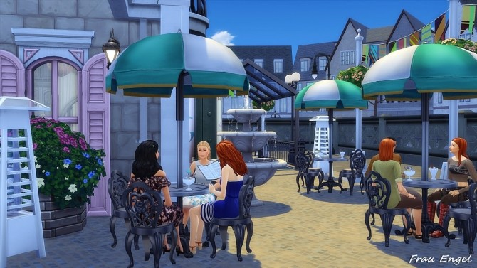 Ice Cream Cafe by Julia Engel at Frau Engel image 1842 670x377 Sims 4 Updates