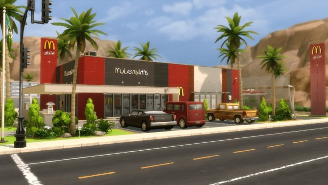 McDonald's Restaurant at RomerJon17 Productions image 1847 670x377 Sims 4 Updates