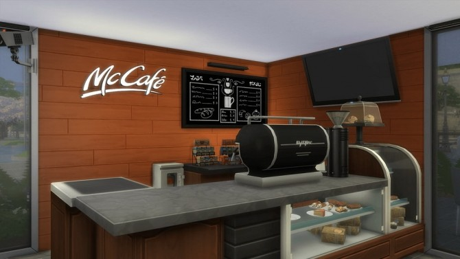 McDonald's Restaurant at RomerJon17 Productions image 1869 670x377 Sims 4 Updates