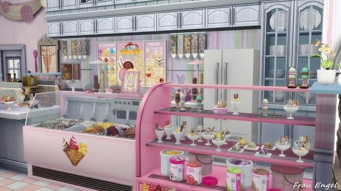 Ice Cream Cafe by Julia Engel at Frau Engel image 1874 670x377 Sims 4 Updates