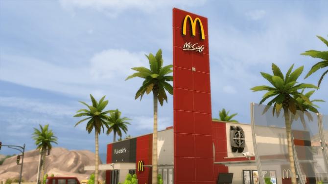Mcdonald S Restaurant 1 At Romerjon17 Productions 187 Sims