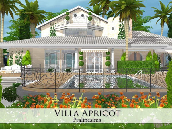 Villa Apricot by Pralinesims at TSR image 19 Sims 4 Updates