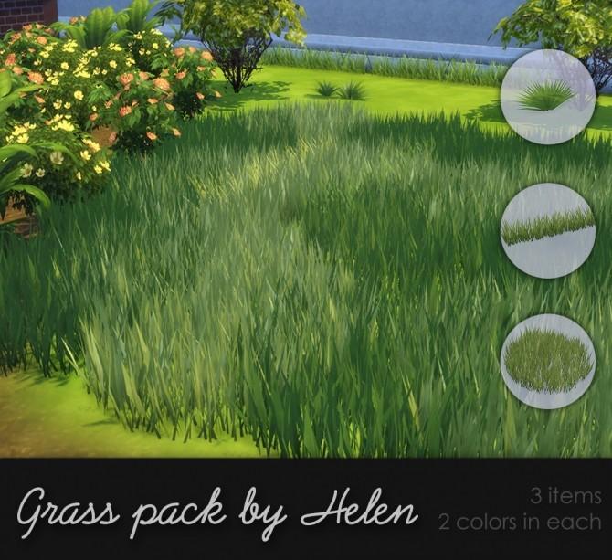 Grass Pack At Helen Sims 187 Sims 4 Updates