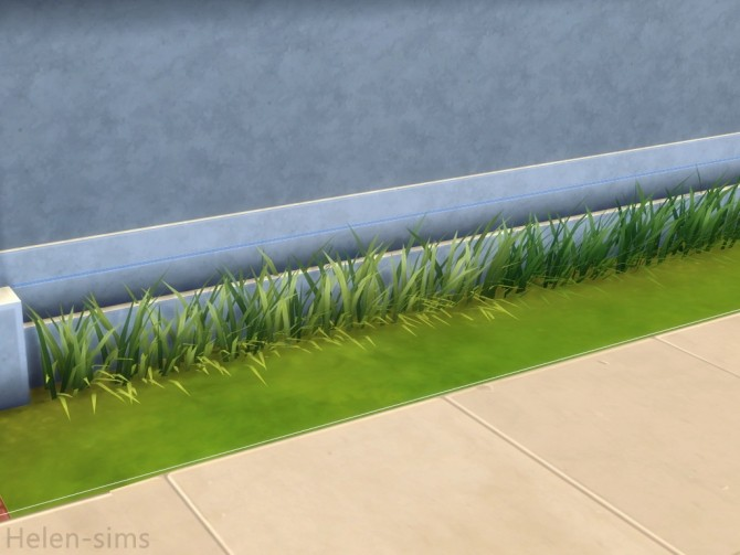Sims 4 Grass pack at Helen Sims