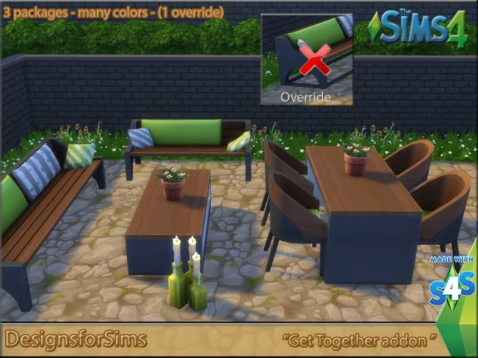 Get Together Outdoor set at Designs for Sims image 196 670x503 Sims 4 Updates