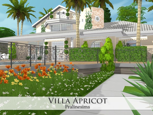 Villa Apricot by Pralinesims at TSR image 20 Sims 4 Updates
