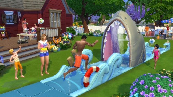Sims 4 The Sims 4 Backyard Stuff announced at The Sims™ News