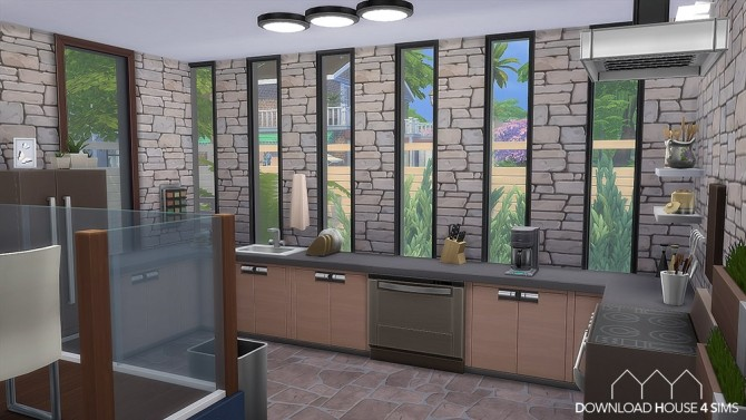 Sims 4 684th Columbia Street, San Diego by Samuel at DH4S