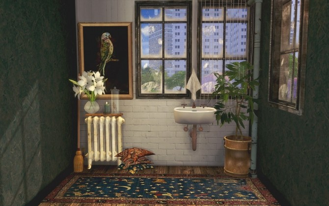 Conversions 01 Radiator, Sink & Pillows at IchoSim image 2051 670x419 Sims 4 Updates