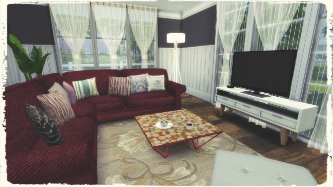 Sims 4 American Style House at Dinha Gamer