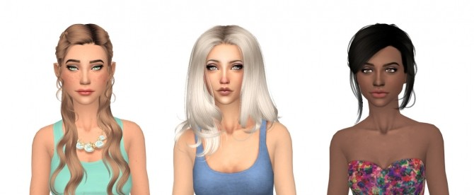 Sims 4 Top ten voted sims available at Nessa Sims