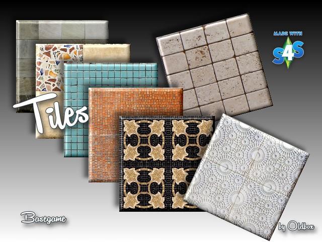 Sims 4 Tiles by Oldbox at All 4 Sims