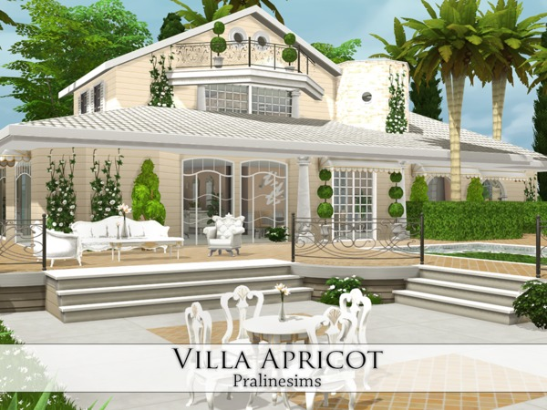 Villa Apricot by Pralinesims at TSR image 21 Sims 4 Updates