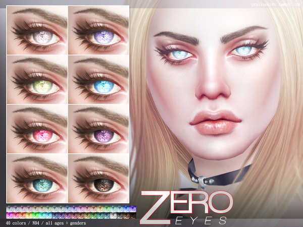 Zero Eyes N94 by Pralinesims at TSR image 2105 Sims 4 Updates
