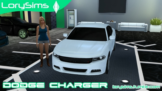 Dodge Charger At Lorysims 187 Sims 4 Updates