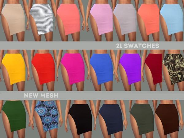 Sims 4 Peyton Skirt by NataliMayhem at TSR