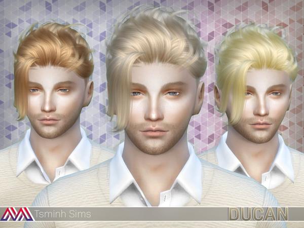 Ducan Hair 15 by TsminhSims at TSR image 2138 Sims 4 Updates