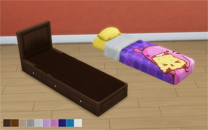 Beddy Bye Bed Frame & Mattresses at Veranka image 2172 670x420 Sims 4 Updates