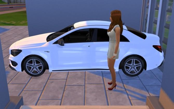 Sims 4 Mercedes Benz CLA Class at LorySims