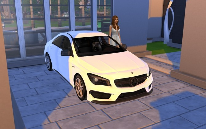 Mercedes Benz CLA Class at LorySims image 2204 670x419 Sims 4 Updates