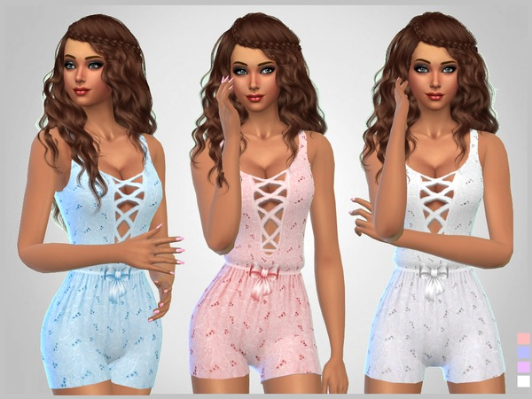 Eyelet Bodysuits by SweetDreamsZzzzz at TSR image 2214 Sims 4 Updates