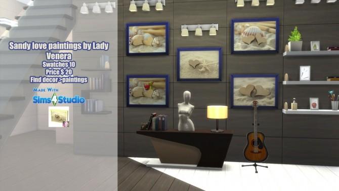 Sandy love paintings at Lady Venera image 2227 670x377 Sims 4 Updates