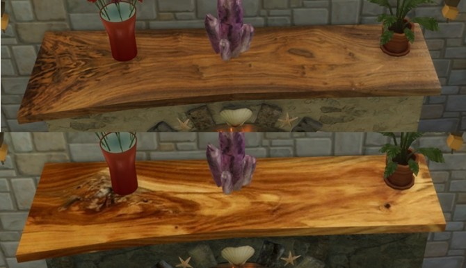 Summer Collectors fireplace, shells & candles, fossil fish at Sims 4 Studio image 223 670x386 Sims 4 Updates
