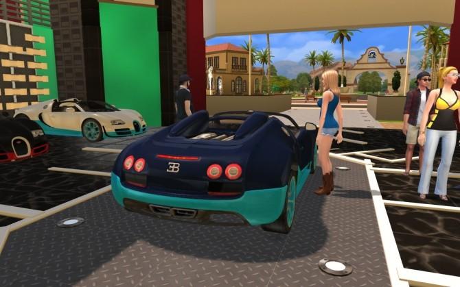 Bugatti Veyron Grand Sport Vitesse at LorySims image 2254 670x419 Sims 4 Updates