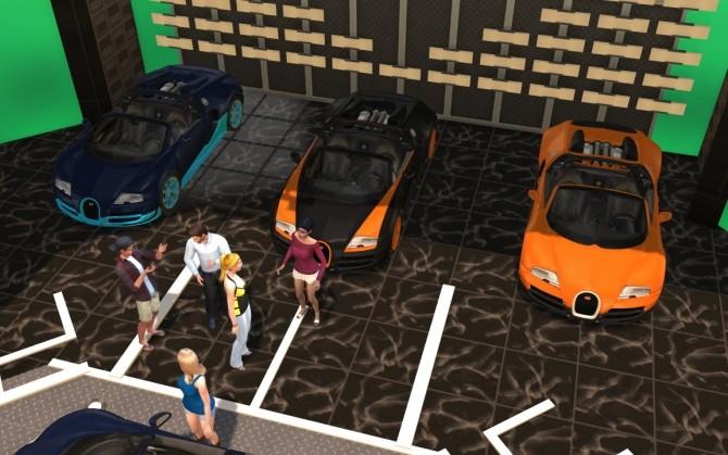 Bugatti Veyron Grand Sport Vitesse at LorySims image 2264 670x419 Sims 4 Updates