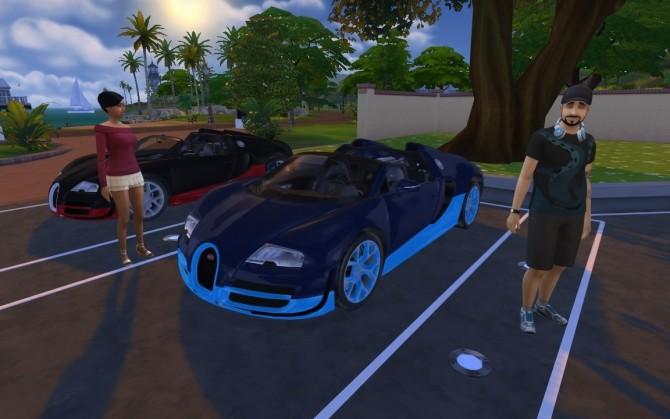 Bugatti Veyron Grand Sport Vitesse at LorySims image 2274 670x419 Sims 4 Updates