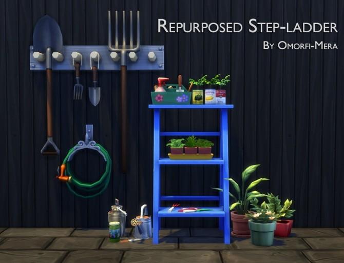 Repurposed Step ladder at Omorfi Mera image 2289 670x513 Sims 4 Updates