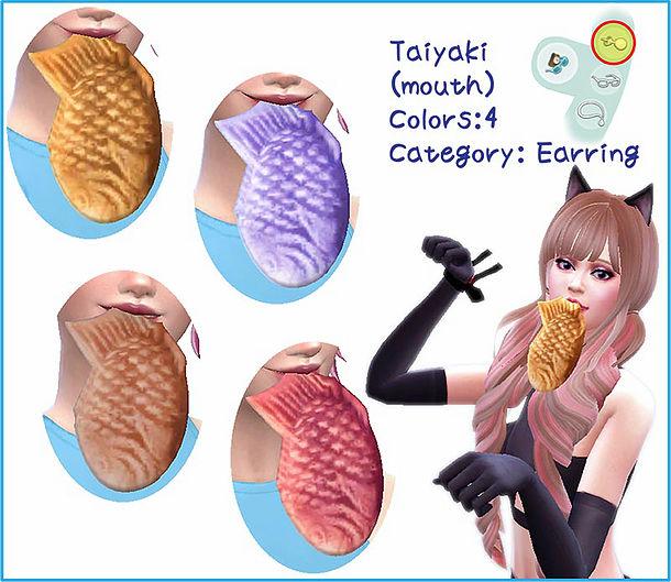 Sims 4 Taiyaki at A luckyday