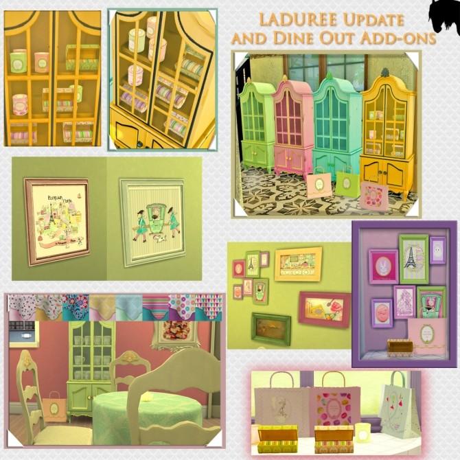 LaDuree macaroon shop items edit at Tkangie – Armchair Traveler image 2367 670x670 Sims 4 Updates