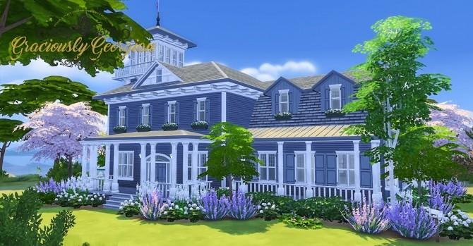 Graciously Georgian Build Set at Simsational Designs image 2373 670x349 Sims 4 Updates