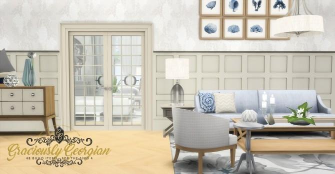 Graciously Georgian Build Set at Simsational Designs image 2393 670x349 Sims 4 Updates