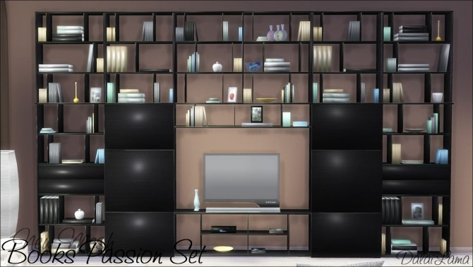 Books Passion Set by DalaiLama at The Sims Lover image 242 670x378 Sims 4 Updates