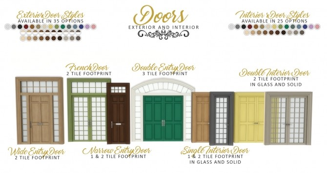Graciously Georgian Build Set at Simsational Designs image 2422 670x355 Sims 4 Updates