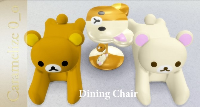 Rilakkuma Dining Chair and Table at Caramelize 187 Sims 4  : 2428 670x358 from sims4updates.net size 670 x 358 jpeg 39kB