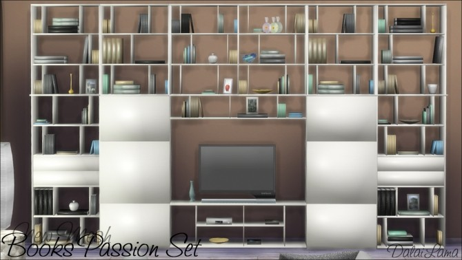 Books Passion Set by DalaiLama at The Sims Lover image 244 670x378 Sims 4 Updates