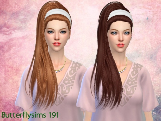 B fly Hair af 191 (Pay) at Butterfly Sims image 2441 670x503 Sims 4 Updates