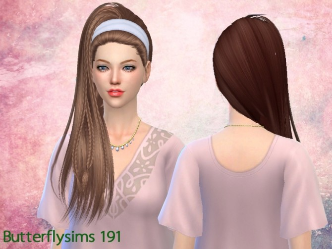 B fly Hair af 191 (Pay) at Butterfly Sims image 2451 670x503 Sims 4 Updates