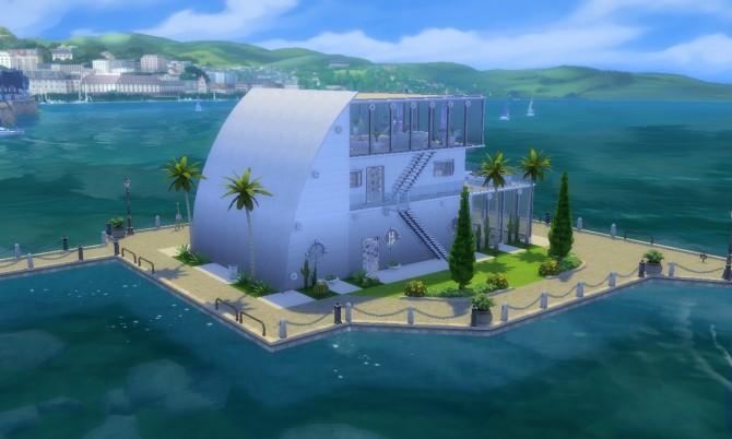 Ocean Villa NO CC at Tatyana Name image 247 670x402 Sims 4 Updates
