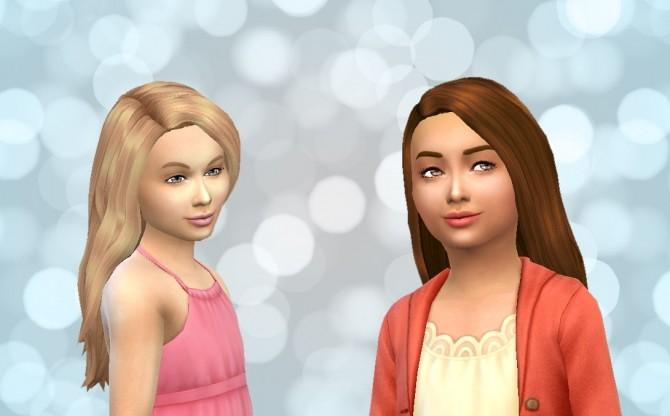 Sims 4 Hair for girls by Kiara Zurk at My Stuff