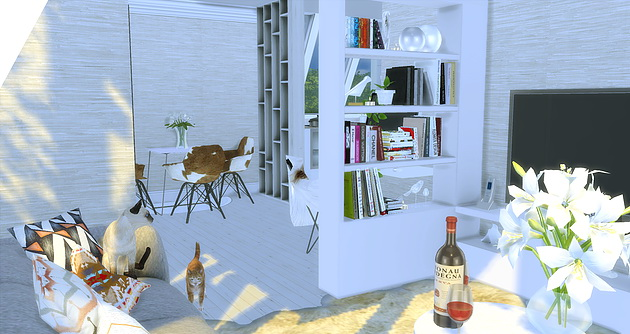 Apartment Room At Caeley Sims 187 Sims 4 Updates