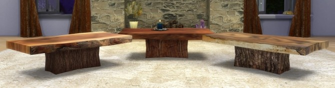 Wood Slab Coffee Table at Sims 4 Studio image 2506 670x177 Sims 4 Updates