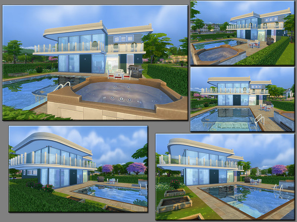 MB Stony Safehold house by matomibotaki at TSR image 2525 Sims 4 Updates