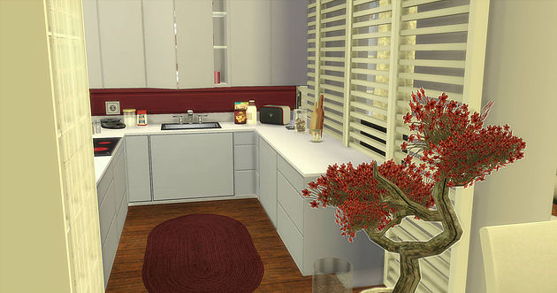 Sims 4 Small House at Caeley Sims