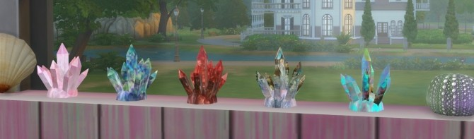 Sims 4 Small Crystal Cluster at Sims 4 Studio